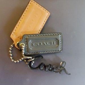 Coach key ring set of 3